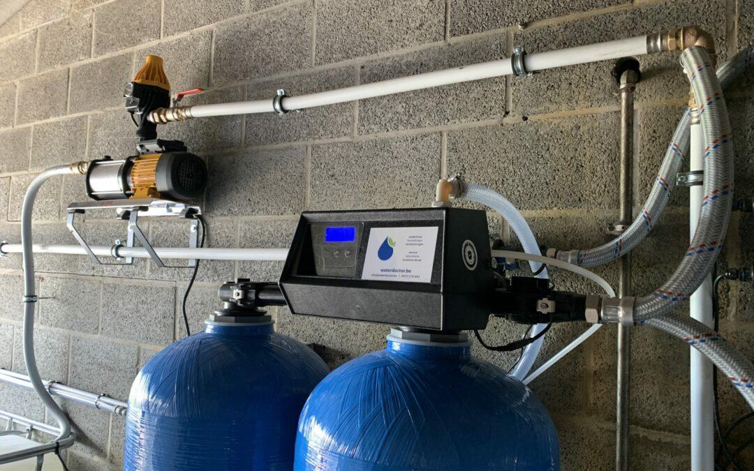 Ontijzering van grondwater voor landbouwbedrijf