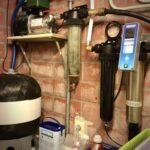 grondwaterfilter met pomp