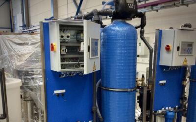 Streepvrij osmosewater voor carwash